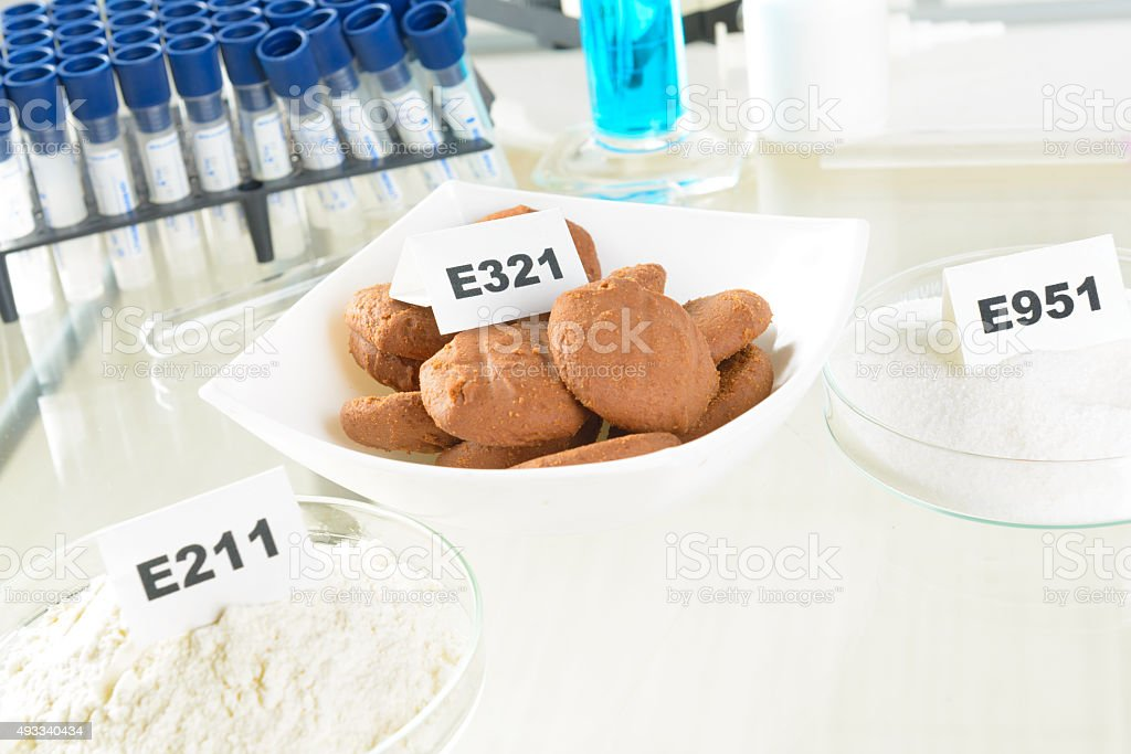 Preservatives stock photo