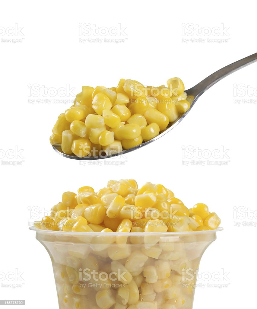 Preserved corn royalty-free stock photo