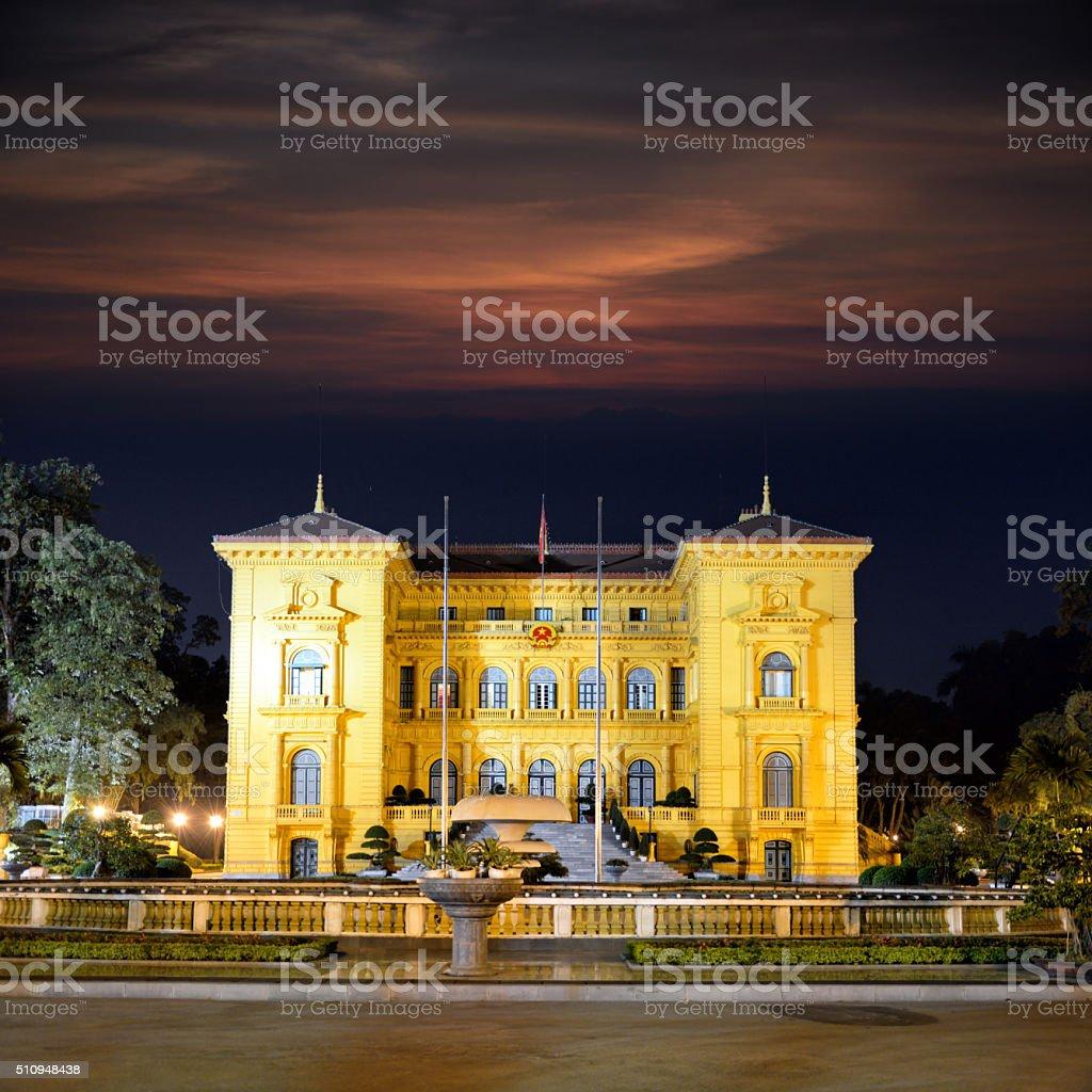 Presidency Palace, Hanoi stock photo