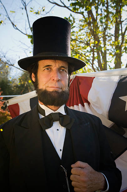 President Abraham Lincoln stock photo
