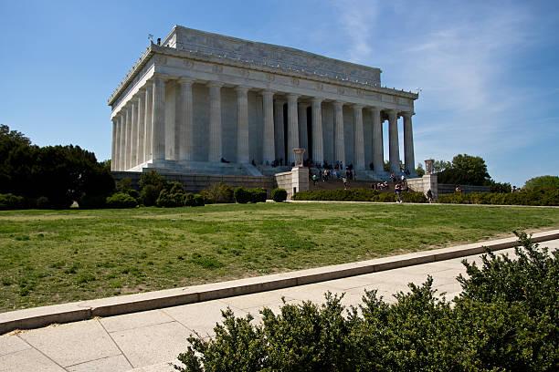 il presidente lincoln memorial, washington dc - ivº secolo d.c foto e immagini stock
