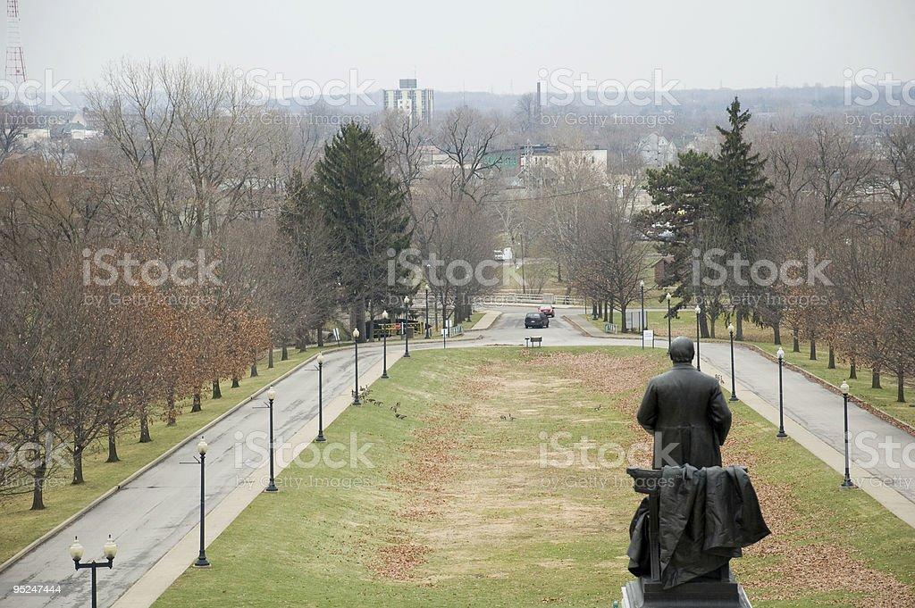 President Mckinley View stock photo
