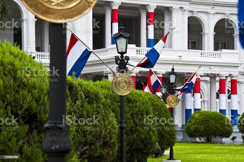 President Palace, Asuncion stock photo