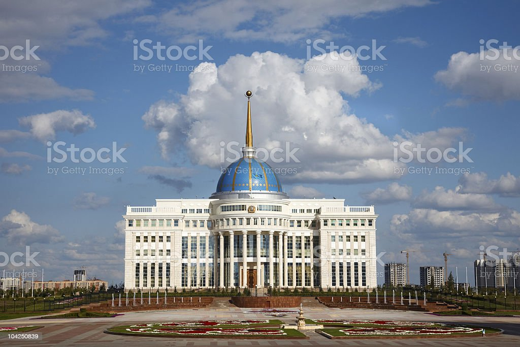 President palace. royalty-free stock photo