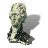 President Thomas Jefferson portrait.