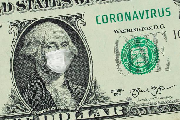 US-Präsident Washington in medizinischer Maske – Foto