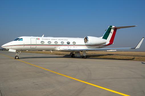 Presidential aircraft - Gulfstream G450 - 3915 Mexican Air Force