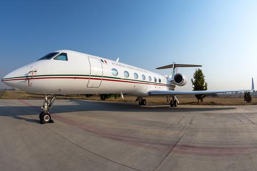 Presidential aircraft - Gulfstream G550 Mexican Air Force - 3916
