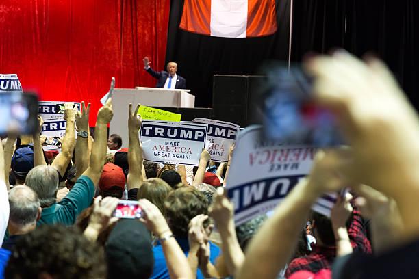 candidato presidenziale 2016 donald briscola - trump foto e immagini stock