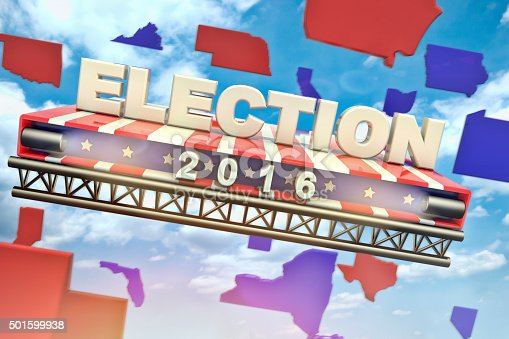 450754061 istock photo Presidential Election 2016 501599938