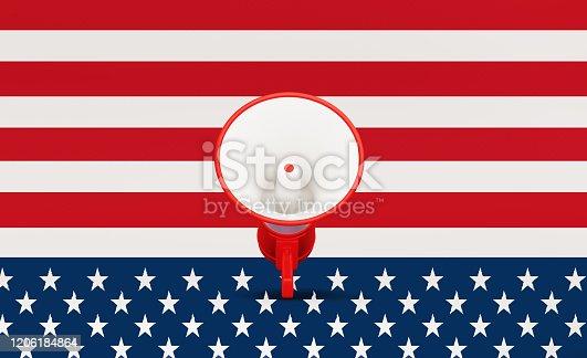 537898300 istock photo Presidential Election 2020 Concept 1206184864
