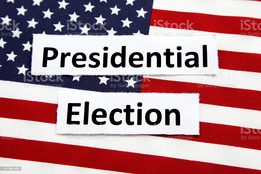 Presidential Election royalty-free stock photo
