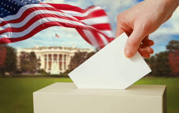 Presidential elections in the USA stock photo