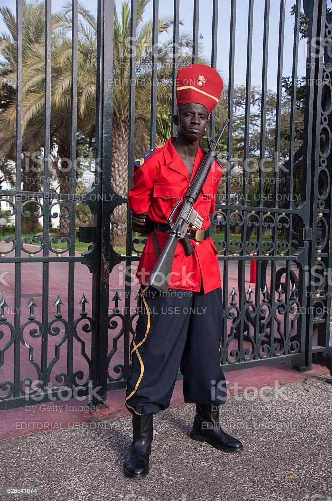 Protección de la suite Presidential - foto de stock