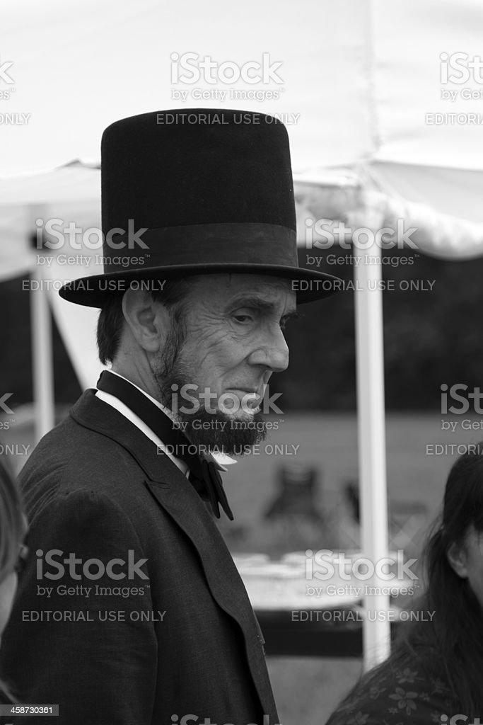 presidential hat stock photo