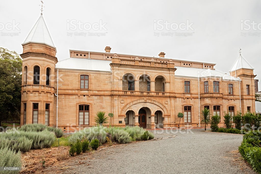 Presidential Home in Bloemfontein stock photo