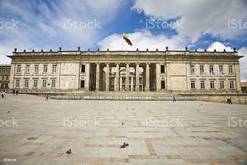 Presidential House In Bogota, Colombia royalty-free stock photo