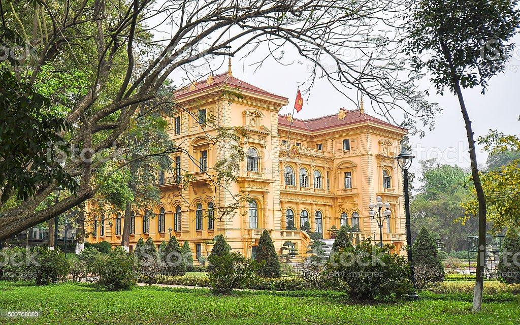 Presidential Palace - Hanoi, Vietnam stock photo