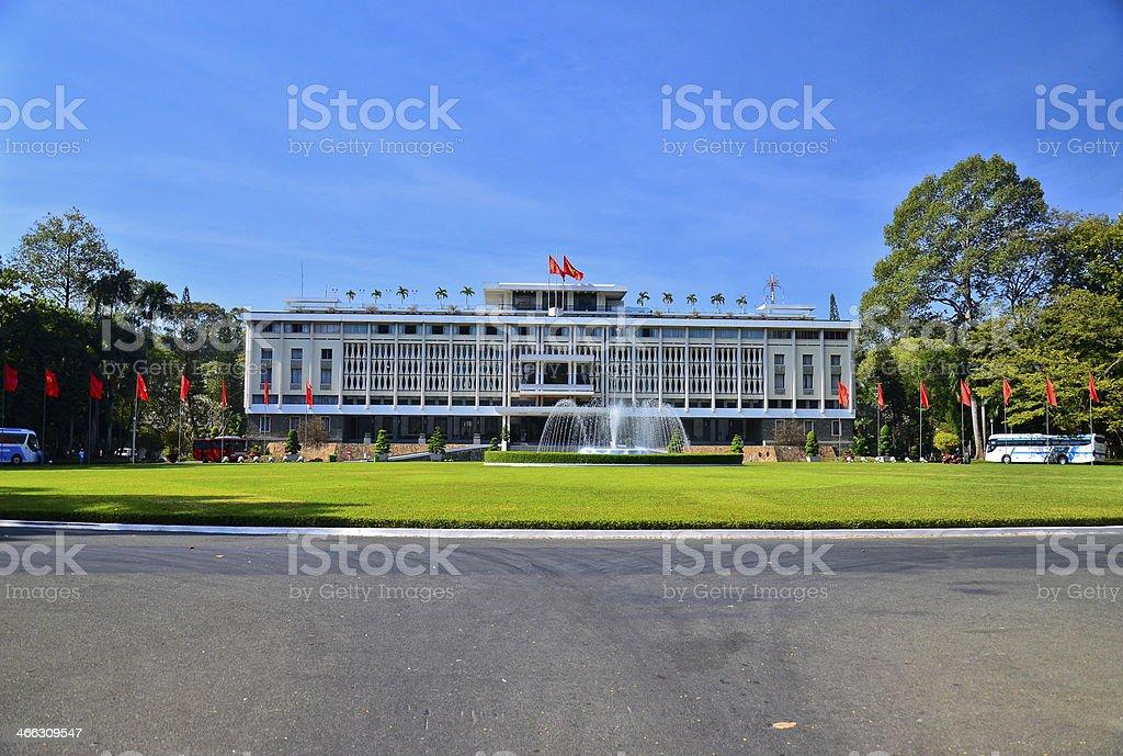 Presidential Palace ,Saigon ,Vietnam stock photo