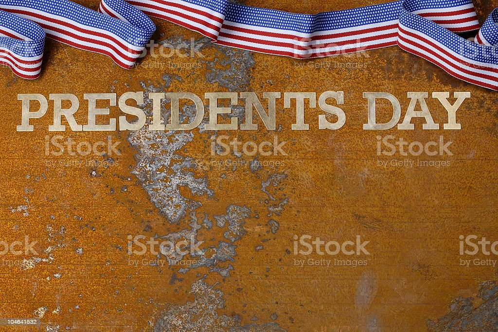 presidents day royalty-free stock photo