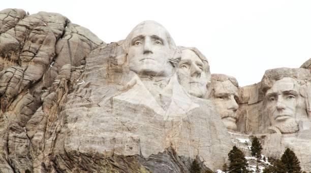 presidentes do monte rushmore - presidents day - fotografias e filmes do acervo