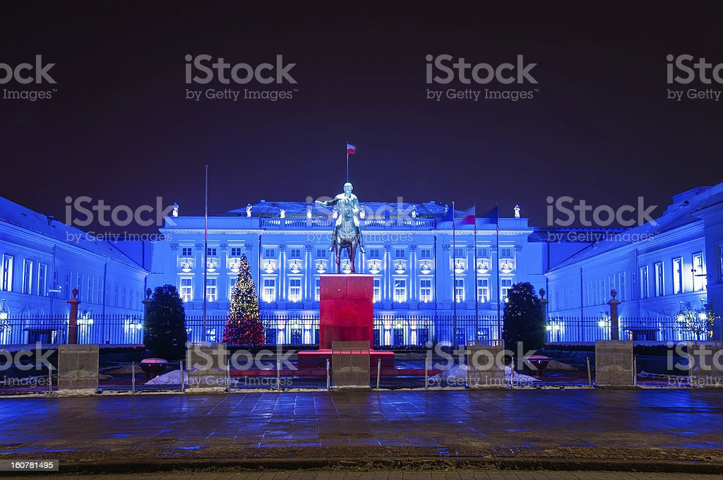 President's Palace royalty-free stock photo