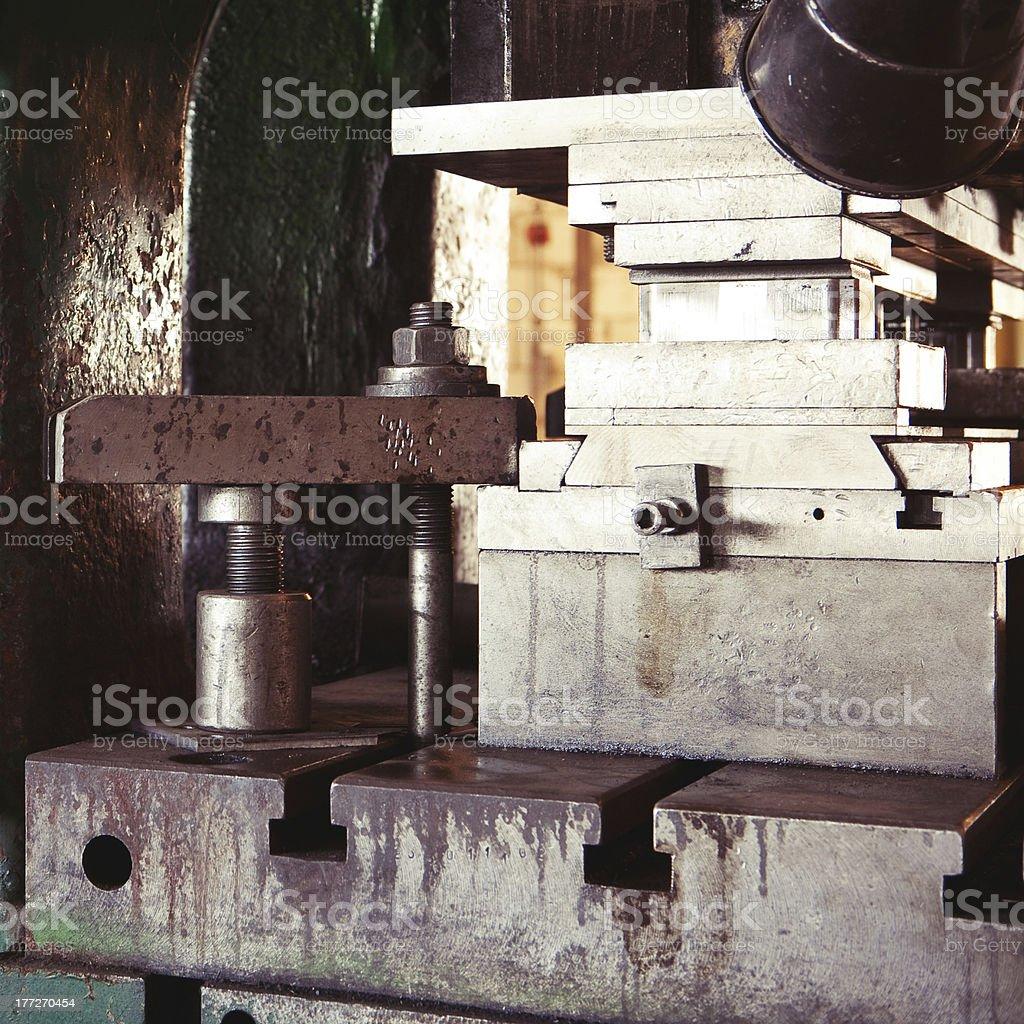 Drücken Maschine – Foto