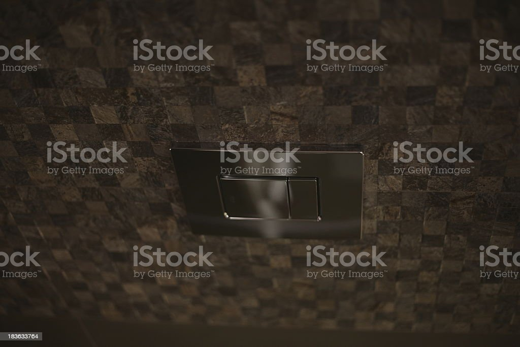 Press to exit switch royalty-free stock photo
