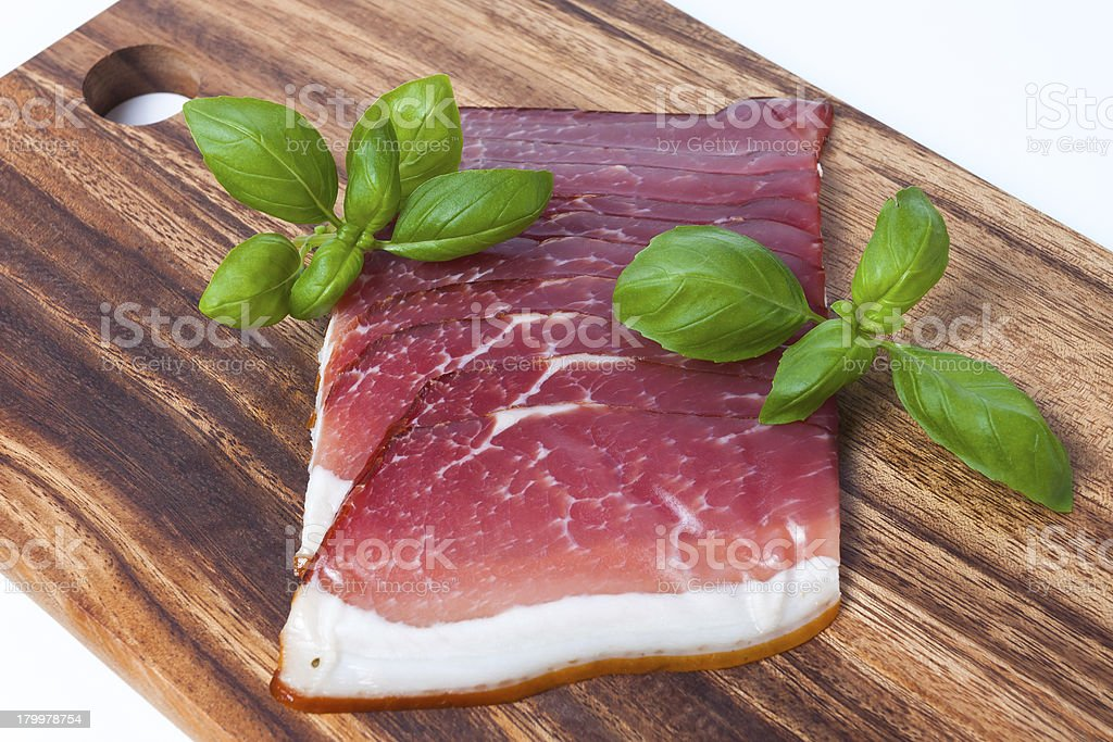 Pressed Meat royalty-free stock photo