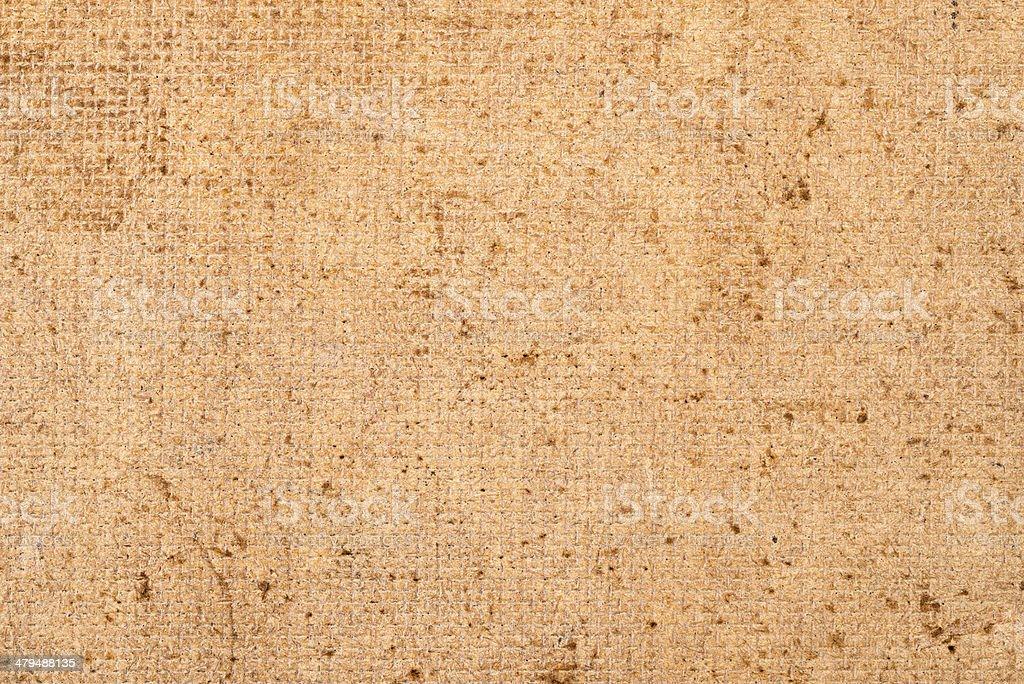 Pressed sawdust stock photo