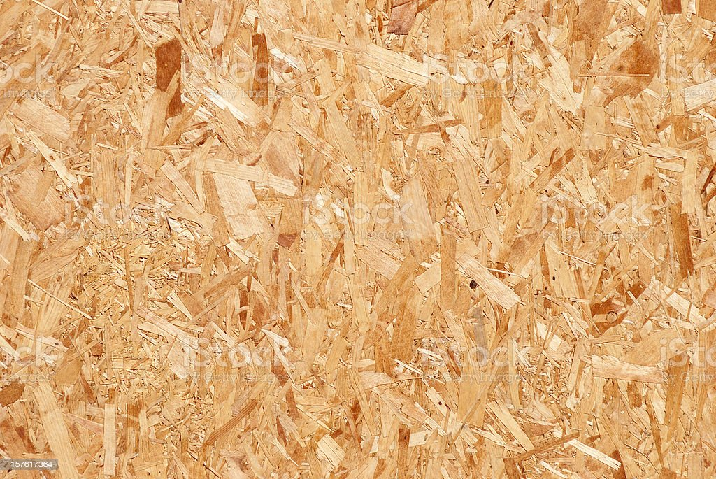 Pressed wood background stock photo