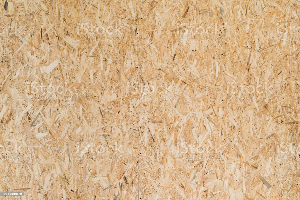 Pressed wood background texture stock photo