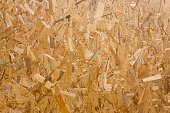 Pressed wood chips board.