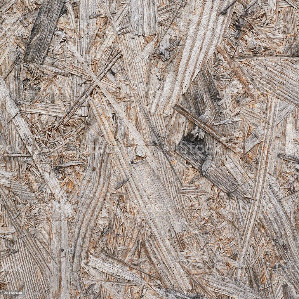 Pressed wood shavings fragment stock photo