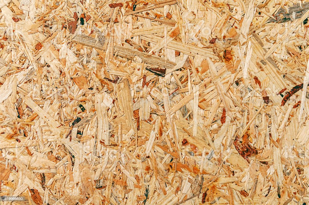 Pressed wooden panel background stock photo