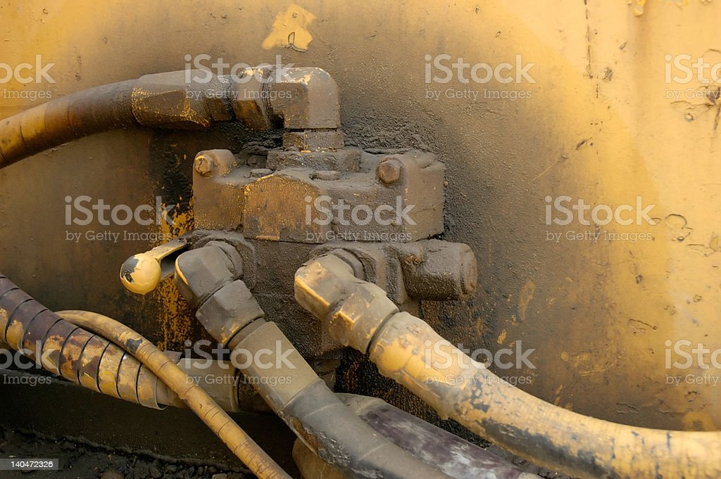 Pressure Cables royalty-free stock photo