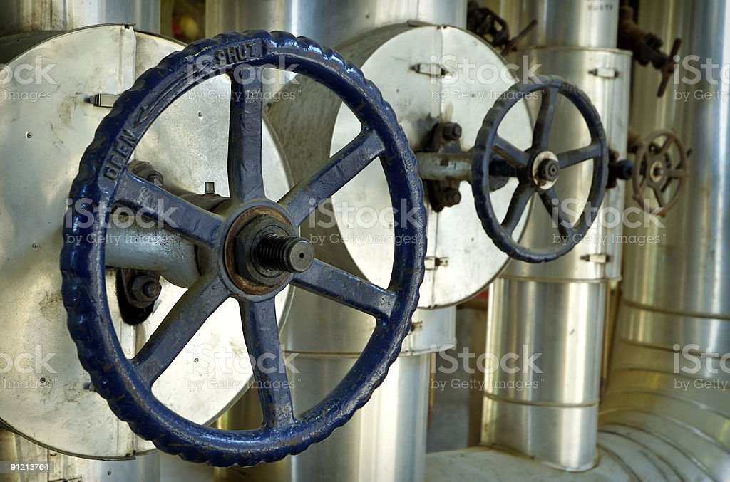 Pressure control royalty-free stock photo