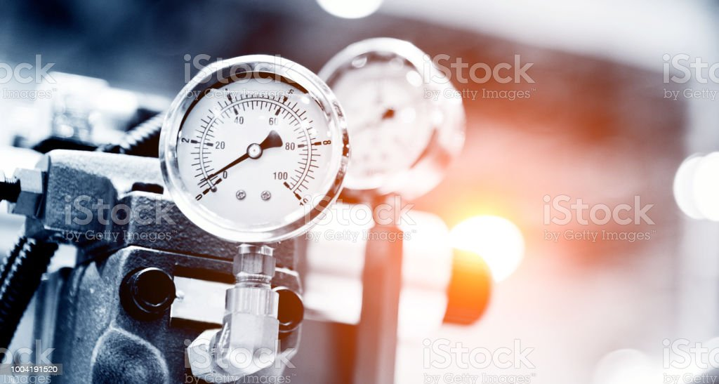 Druckgerät für Industrie-system – Foto