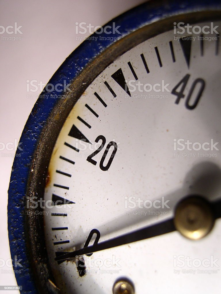 Pressure gage royalty-free stock photo