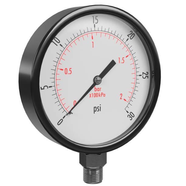 Pressure gauge - foto stock