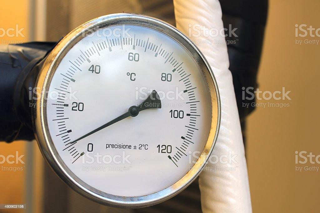 pressure gauge stock photo