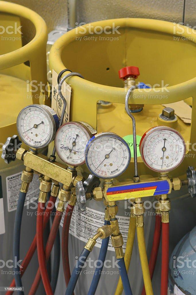 Pressure Monitoring royalty-free stock photo