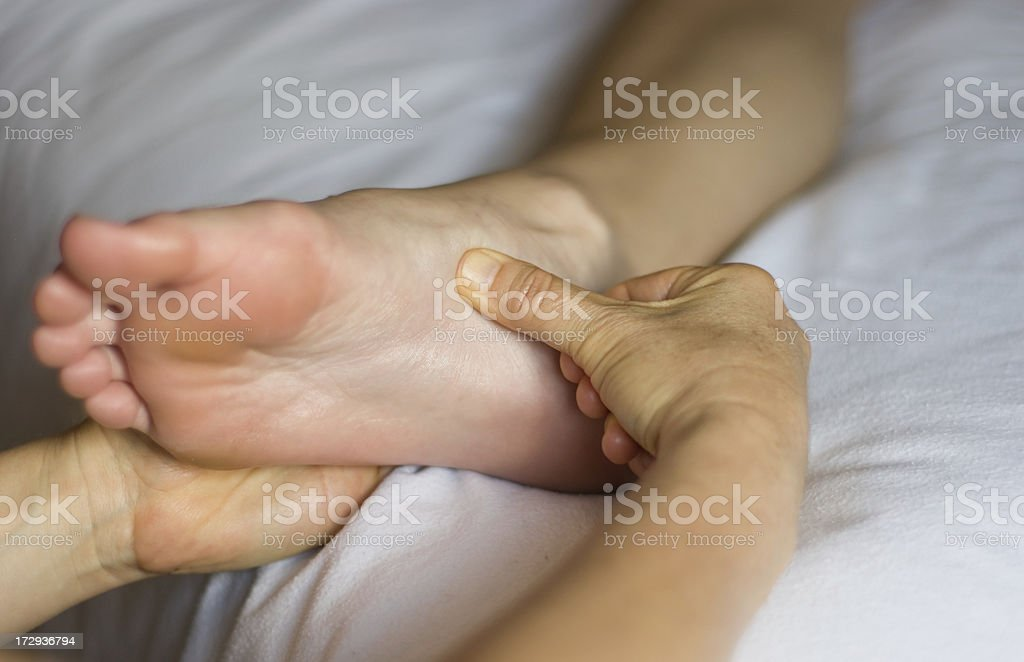 pressure point royalty-free stock photo