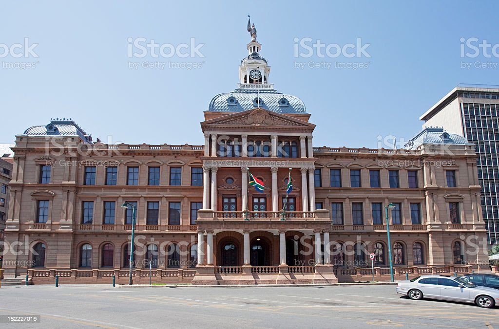 Pretoria City Hall royalty-free stock photo