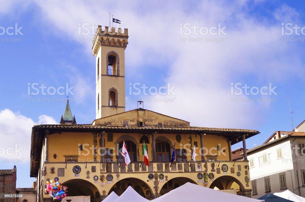 Pretorian Palace, San Giovanni Valdarno royalty-free stock photo