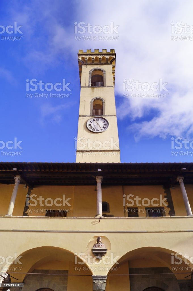 Pretorian Palace, San Giovanni Valdarno royalty-free stock photo