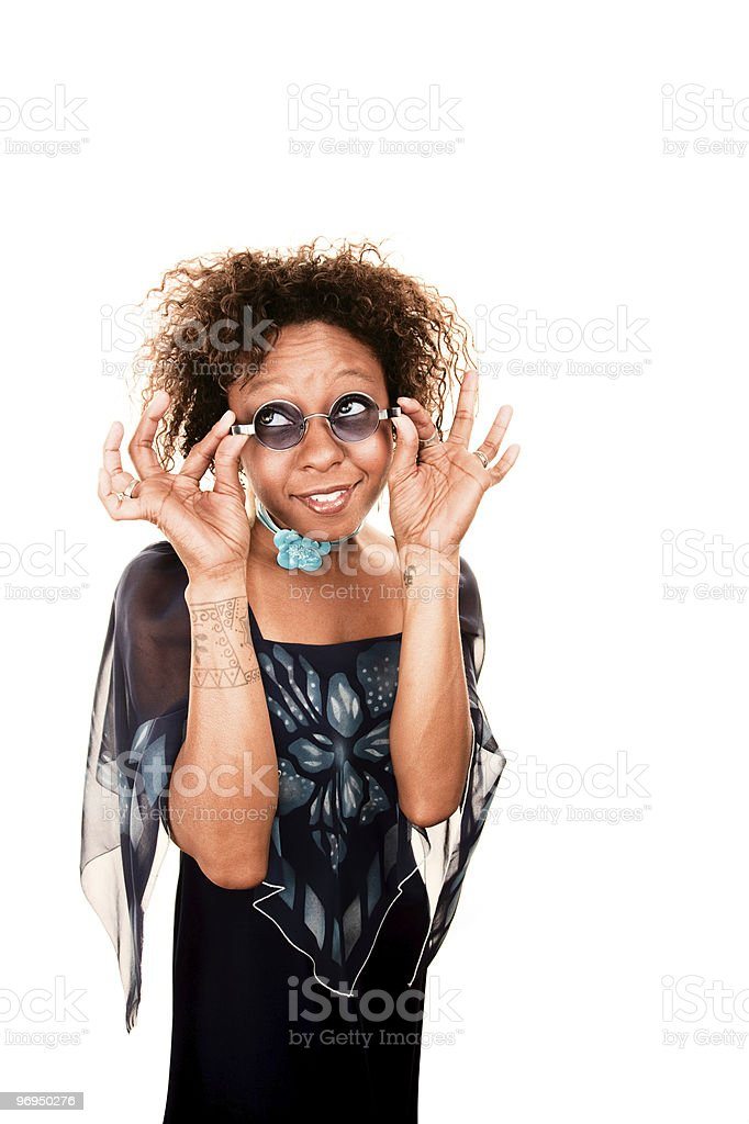 Pretty African-American Woman royalty-free stock photo