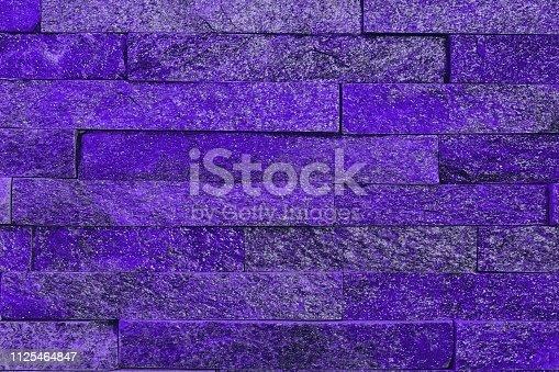istock pretty aged purple natural quartzite stone bricks texture for any purposes. 1125464847