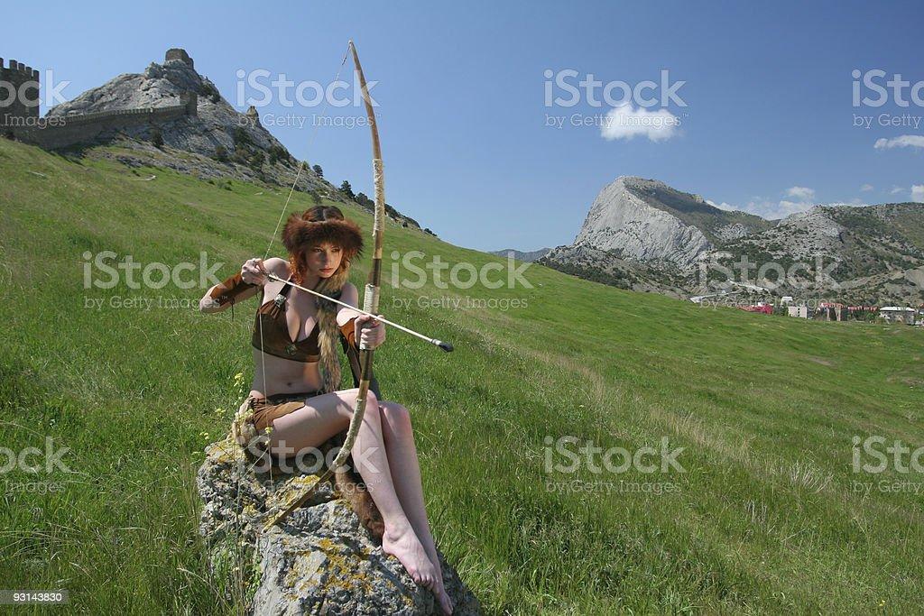 Hübsche archer – Foto