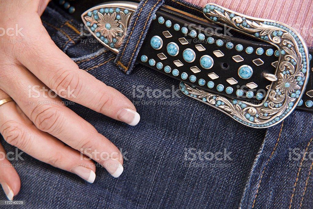 Pretty Belt royalty-free stock photo